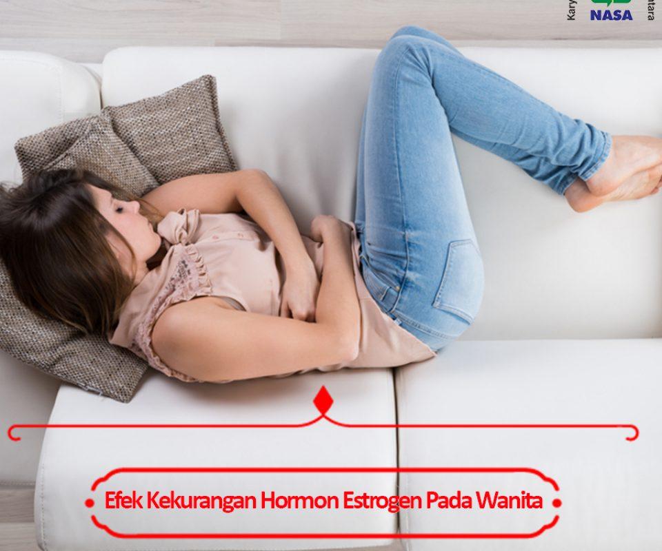 Efek Kekurang Hormon Estrogen Pada Wanita