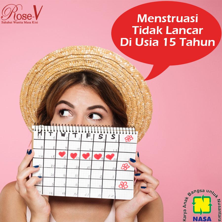 Penyebab menstruasi tidak lancar di usia 15 tahun