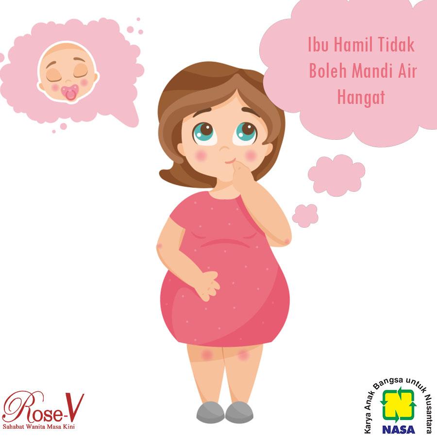 Ibu Hamil Tidak Boleh Mandi Dengan Air Hangat