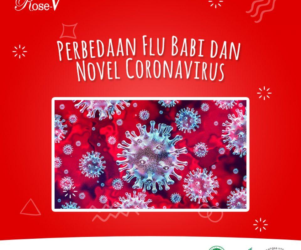 PERBEDAAN FLU BABI DAN NOVE CORONAVIRUS