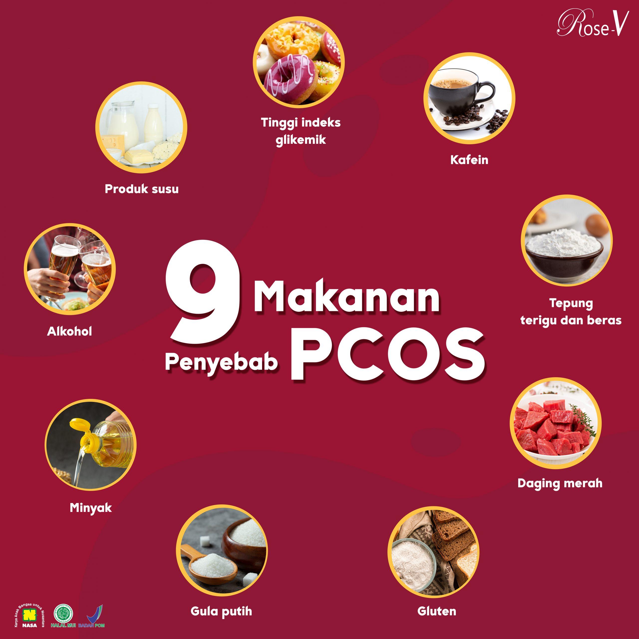 Makanan Yang Dapat Memicu PCOS